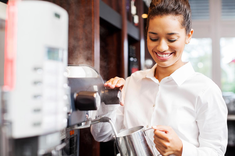 Passende Kaffeevollautomaten für Gastronomie & Hotel