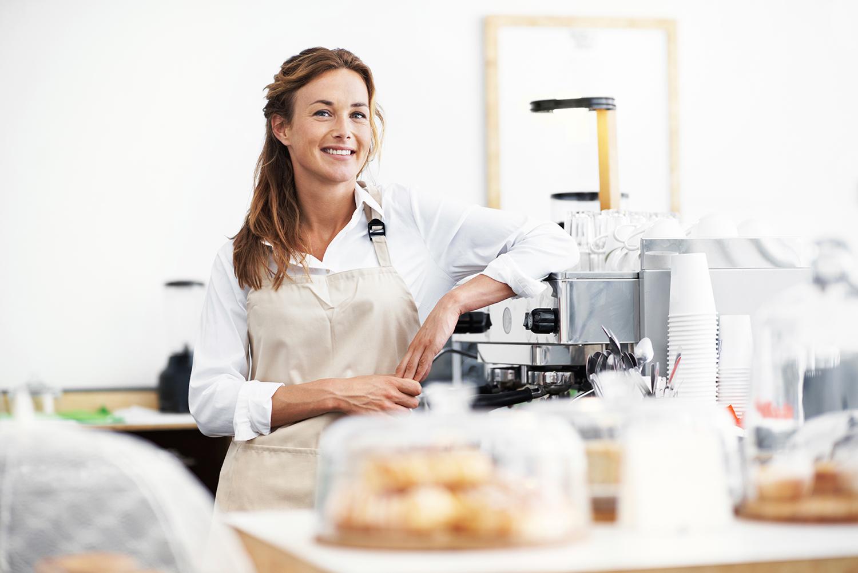 Passende Kaffeevollautomaten für Bäckereien und Cafés